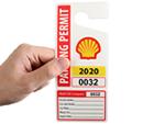 Permit + Tear-Off ID Card