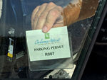 Parking Permit Decal Holder for Windshield
