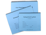 Parking Log Books