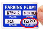 Stock Parking Decal