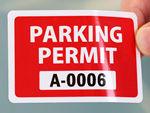 In-Stock Parking Decals
