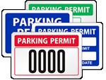 Window Decal Parking Permit
