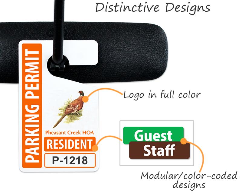 Parking Hang Tags Design Online At Myparkingpermit