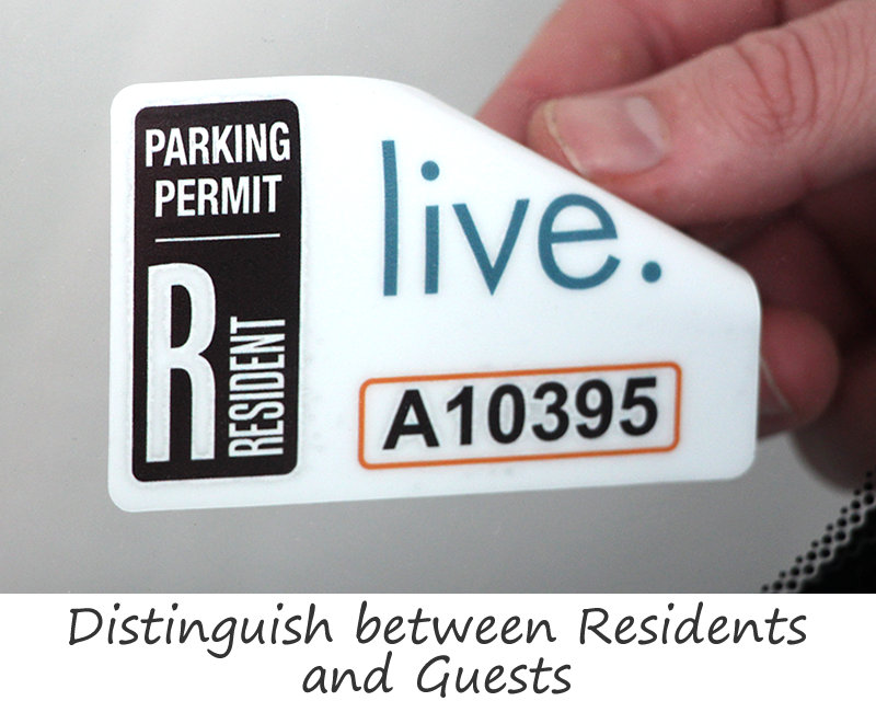 Custom Car Parking Stickers