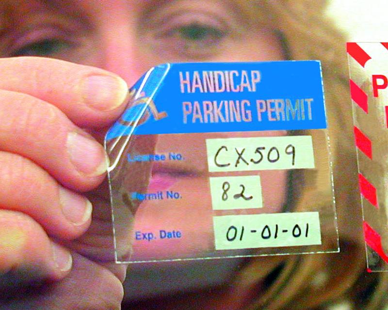 Handicap parking permits handicap parking hang tags temporary handicapped parking permit decals maxwellsz