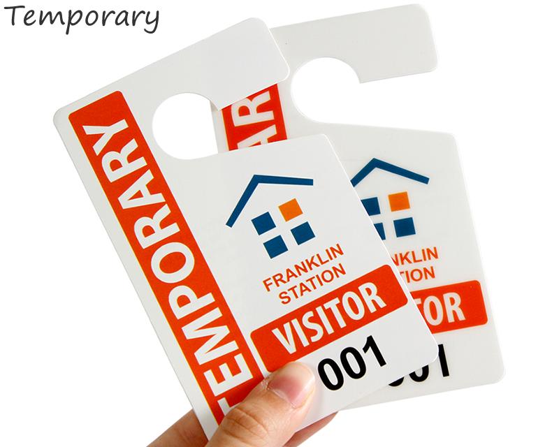 Guest Parking Passes | Customize Online