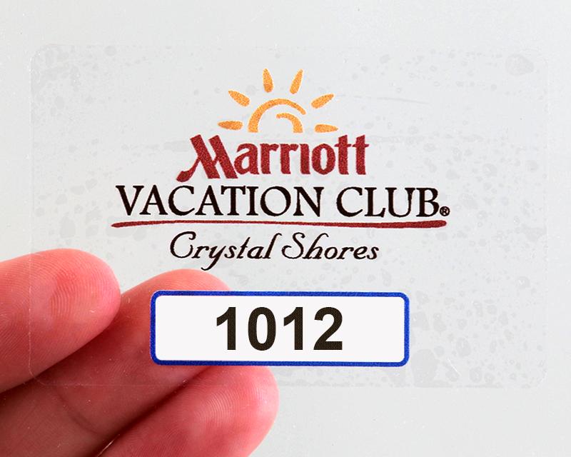 Remove Sticker From Windshield >> Custom Parking Permit Stickers