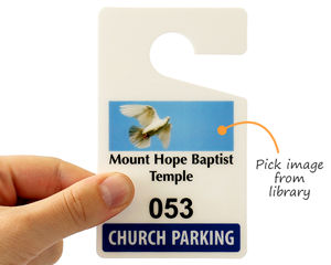 church parking permit