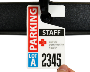 Community health parking permit
