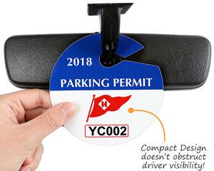 Circular Custom Parking Permits
