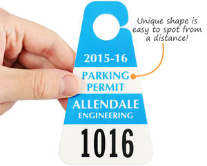 Triangle Custom Parking Permits