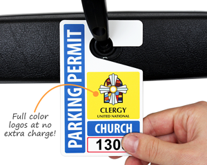 Full color parking permits