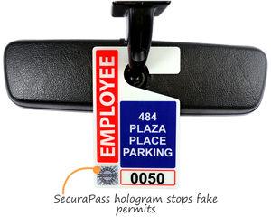 Hologram parking permits