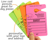 Low cost permits great for day passes