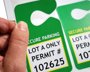 Customize Your Own Secure Parking Passes