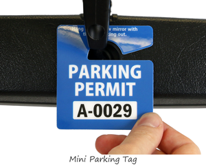 Stock parking tag