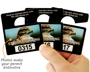 Photo parking permits
