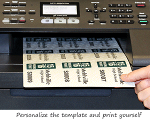 Print your own parking permits