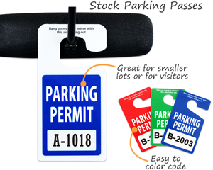 Stock Parking Passes