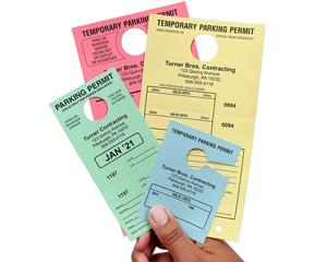Show-a-Pass™ Temporary Parking Passes
