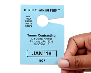 Monthly Parking Permit