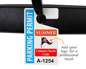 Yacht club parking permit
