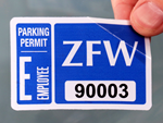 Explore Parking Sticker Templates