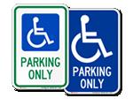 More Handicap Parking Signs