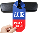 Parent Pick-Up Tags