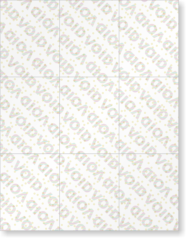 void watermark paper Is there an app/website out there that lays an undetectable watermark into a document, that when it is attempted to be photocopied, the watermark appears example: so if someone were to print using regular paper and ink, the document would photocopy with a void watermark.