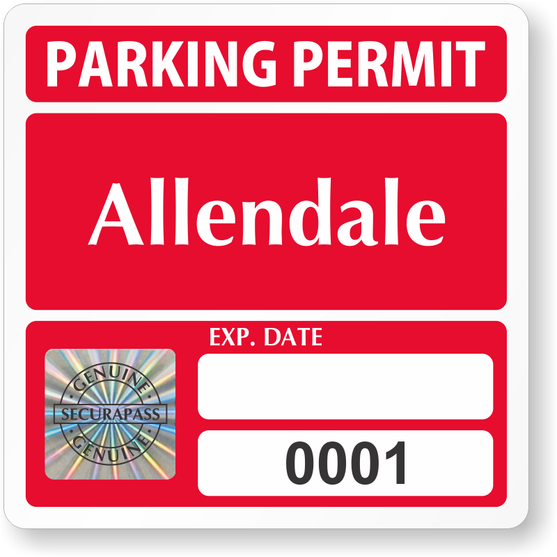 School Parking Permits 50 @ $3.10 to 2,500 @ $0.42 Free ...