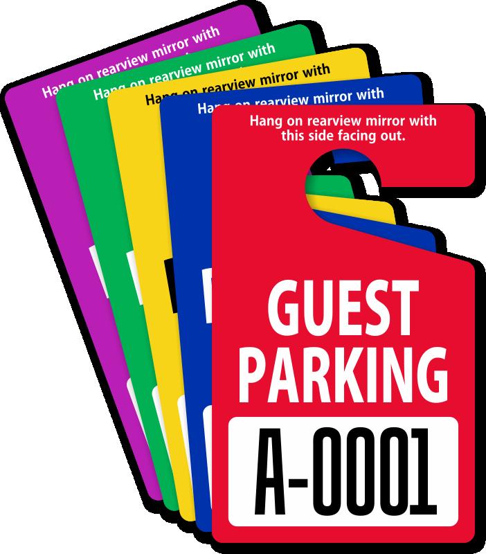 Guest Parking Passes Customize Online