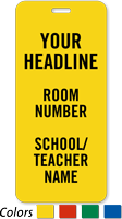 Custom Hall Passes For School