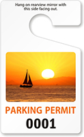 PhotoTag™ Standard Sized Rearview Mirror Hang Tag