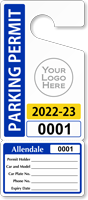 Customizable Parking Permit