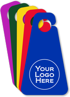 Custom Triangle Parking Permit Hang Tag