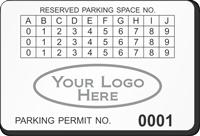 Parking Labels - Design LL14