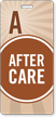 After Care Polka Dot Design Pass Backpack Tag