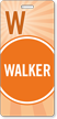 Walker Pass Backpack Wavy Stripes Design Tag