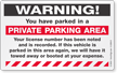 Removable Parking Violation Stickers