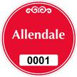 Parking Labels - Design CR1