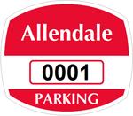 Parking Labels - Design OS7
