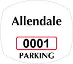 Parking Labels - Design OS1A