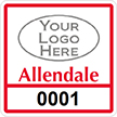 Parking Labels - Design SQ6L