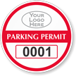 Parking Labels - Design CR4L