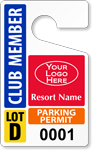 ToughTag™ for Club / Resort Parking Permits