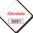 Custom Diamond Windshield Parking Decal