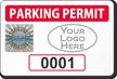 Create Tamper-Evident Hologram Logo Numbered Permit Parking Decals
