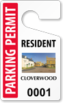 PhotoTags™ Permits, Standard Size, Cloverwood