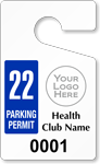 ToughTag™ for Health Club Parking Permits